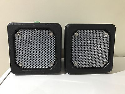 X2 HME SP10 Drive Thru Speakers - 2 Units - Used 165555