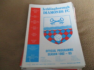 Irthlingborough  Diamonds V  Skegness  Town  1982-3  Fa Cup  Replay