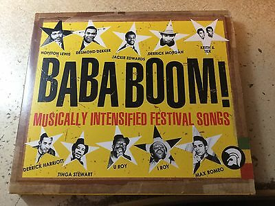 Baba Boom! Musically Intensified Festival Songs Trojan I Roy U Roy Tennors2 x CD