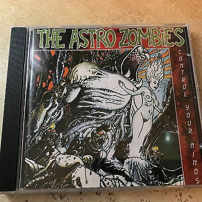 The Astro Zombies ‎– Control Your Minds CD