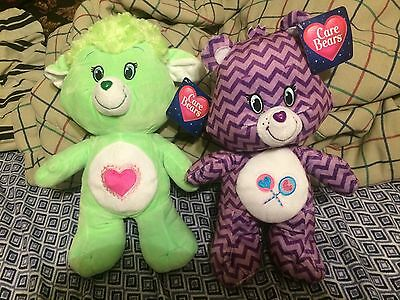 Care Bears Plush Set Of 2 13""