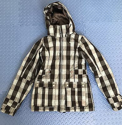 Women's Burton White Collection Jacket Sz S