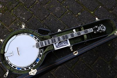 NEU Deering Tony Trischka Silver Clipper No8 Bluegrass Banjo Made in USA
