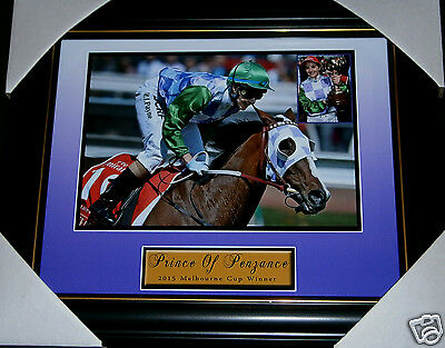 Prince Of Penzance 2015 Melbourne Cup Winner Michelle Payne Small Print Framed