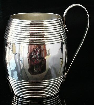 Antique Silver Tankard Mug, London 1793, Walter Brind