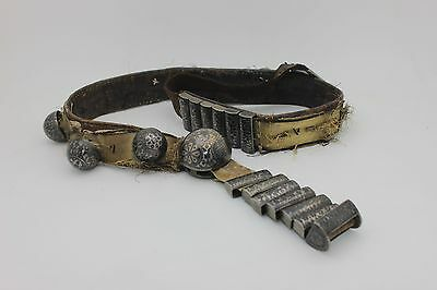 Antique Original Russian Full Silver Niello Amazing Strong Traditional Belt