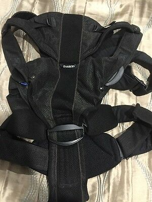 Baby Bjorn Brand Carrier Miracle Style With Parent Back Support Travel Bag Sling