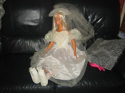 my size bride  barbie doll 3 foot tall