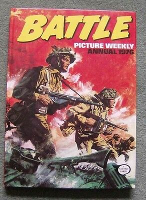 battle annual 1976...in good condition
