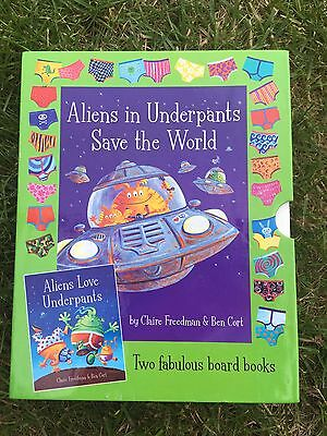 Aliens In Underpants Save The World Book Set