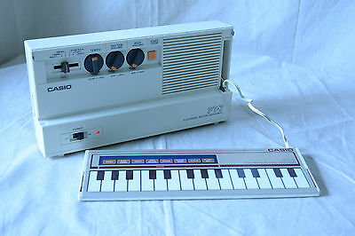Casio PT-7 ELECTRONIC MUSICAL INSTRUMENT tiny polyphonic touch sensor keypad