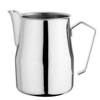 Motta Stainless Steel Europa Professional Milk Pitcher Jug 11.8 Fluid Ounce