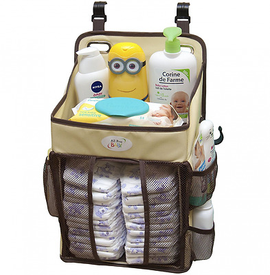 Baby Diaper Caddy & Nursery Storage Organizer