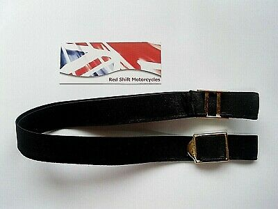DELUXE Goggle s ELASTIC STRAP New Replacement for Halcyon Stadium Vintage. BRASS
