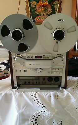Akai-Gx-747 Mint/fully Serviced/tested/auto Reversed R 2 R