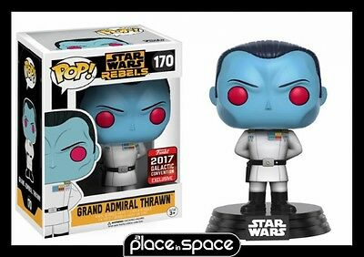 Star Wars Rebels - Admiral Thrawn Convention 2017 Funko Pop! Vinyl Figure #170