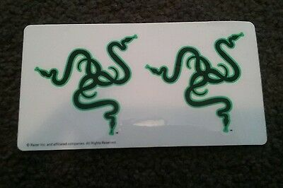 Genuine Razer stickers