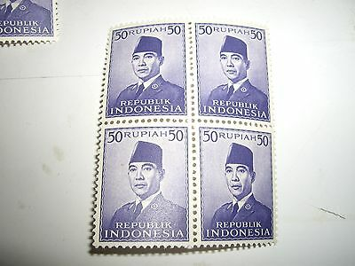 timbre stamp  INDONESIE  BLOC 1953  NEUF** MNH