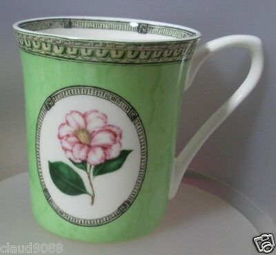 """Queen's China """"applebee Collection- Pink Rose Mug"""" Fine Bone China Appl71011A"""