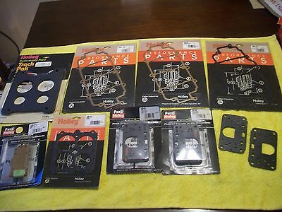 New Holley Carburetor race car  parts & gasket assortment
