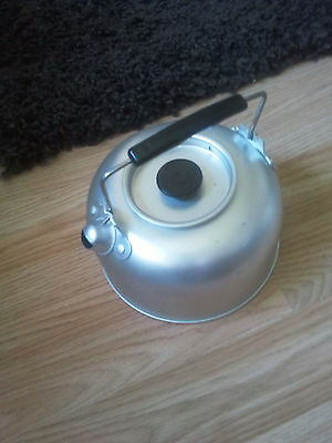1.1L Outdoor Picnic Kitchen Tea Pot Camping Fire Stove Tea Coffee Kettle Hiking