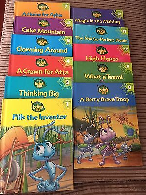11 Bugs Life Books Excellent Condition