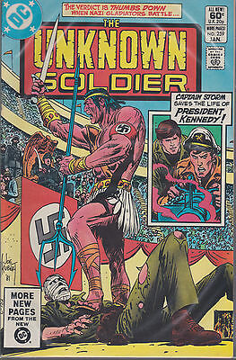 DC comics book THE UNKNOWN SOLDIER # 259  Jan 1982  [ A4 ]