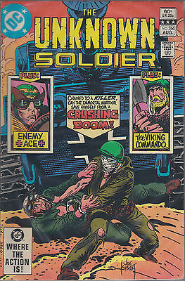 DC comics book THE UNKNOWN SOLDIER # 266  Aug 1982  [ A4 ]