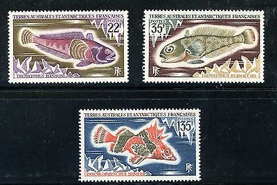 Stamp / Timbre T.a.a.f. / Terres Australes Neuf N° 43/45 **  Cote ++ 26 €