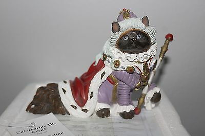 BRAND NEW IN BOX WITH TAG: Cat-Therine The Great The Hamilton Collection