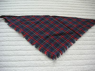 American Girl Kirsten's Plaid Shawl From Her School Dress. Vgc.retired