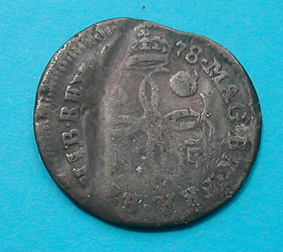 Silver groat (=4 pence) of 1678 for Charles II