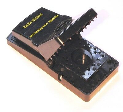Two Rat Traps,Press and Set Revenge Rat Snap Traps,rat,weasel trapping    021A