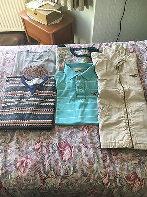 Men's Clothes Bundle ~ 5 items ~ ALL SIZE MEDIUM ~ HOLLISTER JACKET INCLUDED !!