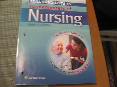 Skills Checklists for Fundamentals of Nursing : The Art and Science of Person-Ce