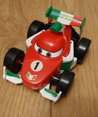 DISNEY PIXAR World Grand Prix Plastic Car Toy Pull Back