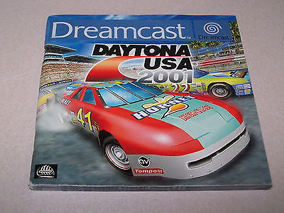 DAYTONA USA 2001 - ORIGINAL MANUAL ONLY  - Sega Dreamcast - VG COND