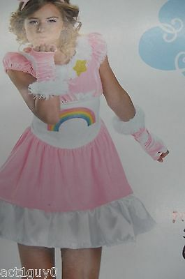 Care Bear costume Dress, 2 mitts, headpiece, petticoat- fits child size Int. 6-8