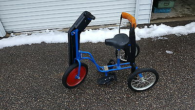 RIFTON Special needs Adaptive Hand Propelled Tricycle bike bicycle pedals kids