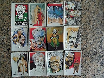 CPA QUENTIN  - GEORGES BRASSENS - 12 cartes