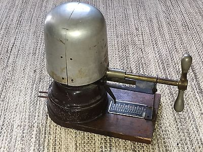 Antique Vintage Electric Hat Stretcher Millinery Steampunk
