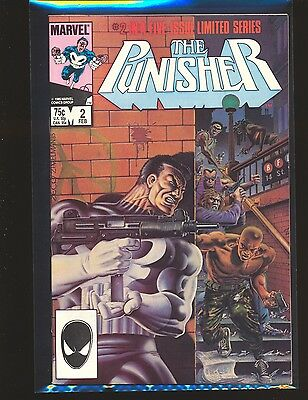 Punisher Limited Series # 2 - Mike Zeck cover & art VF+ Cond.