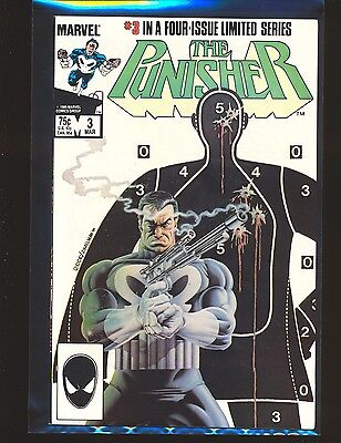 Punisher Limited Series # 3 - Mike Zeck cover & art NM- Cond.