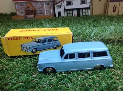 Vintage Dinky Toys #24F Familale 403 Peugeot In Original Box - French
