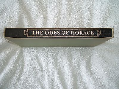 The Odes Of Horace.folio Edition.1987.in Slipcase.