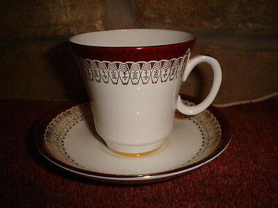 """Royal Grafton """"Majestic"""" Cup and Saucer"""