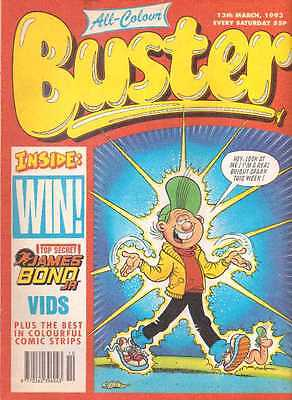 Buster Comic. 13th March 1993
