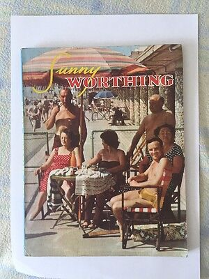 Worthing Sussex Official Guide 1960