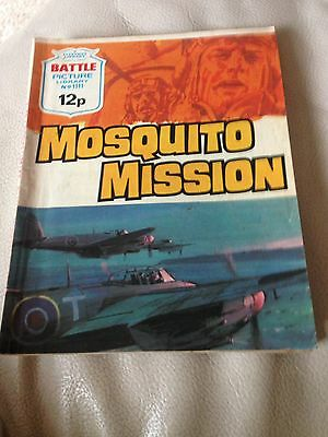 Battle Picture Library 1111 Mosquito Mission Bronze Age Comic 1970s