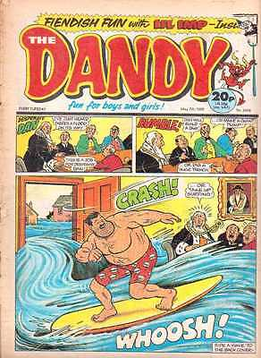 Dandy comic issue 2424. May 79th 1988.